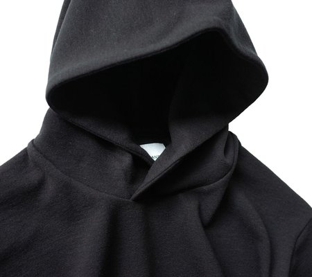 Still By Hand Pull over Hoodie - Black