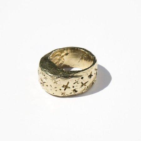 Melissa De La Fuente Reminder Ring - Gold