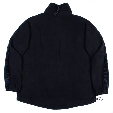 Monitaly Kog Risu Fleece Mock Neck - Black