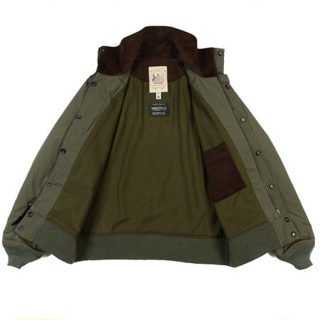 Monitaly Short Field Jacket - Olive