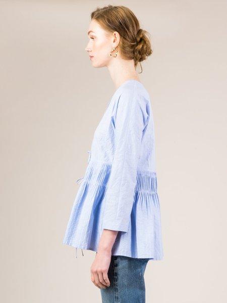 Caron Callahan Mica Crinkle Cotton Top