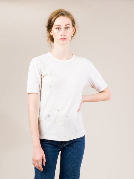 Shop Boswell Vintage Tee - White