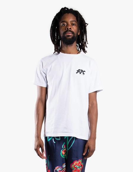 A.P.C. T-Shirt Richie (USA) - white