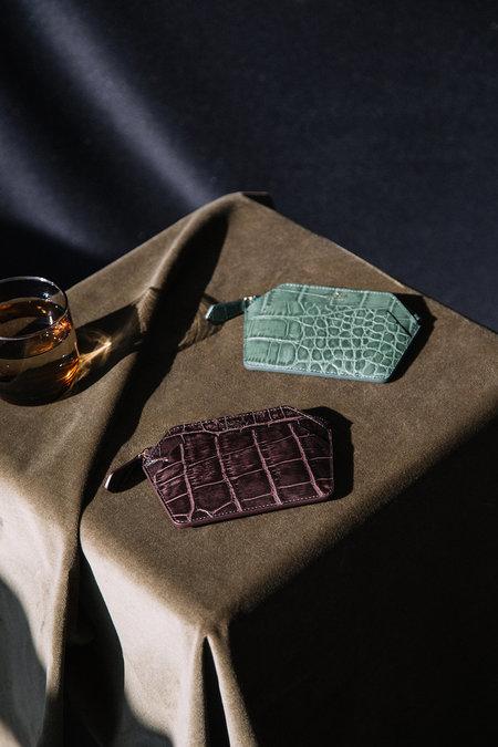 IMAGO-A Nº39 Forma Wallet - Evergreen Croc