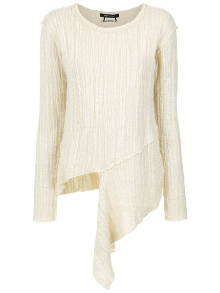 Uma Raquel Davidowicz Creme Wool Sweater - Off White