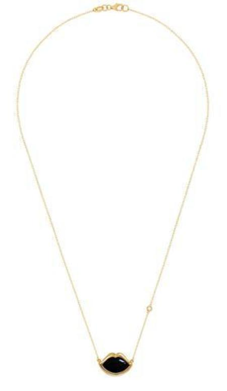 Cliff+B Lip Necklace - ONYX