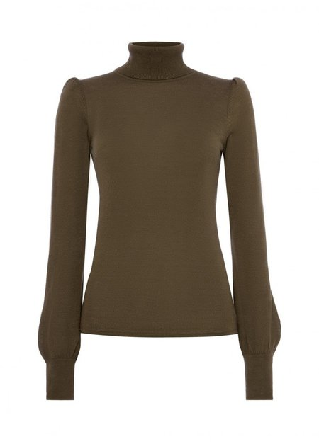 Goat Garbo Sweater - Khaki