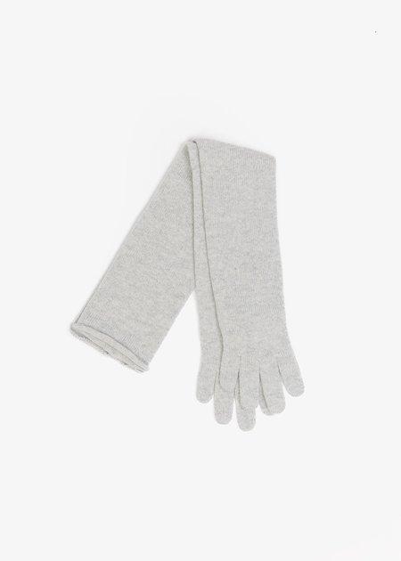 Baserange Whit Cashmere Gloves - GREY