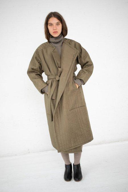 Lauren Manoogian Quilted Duvet Coat - Olive