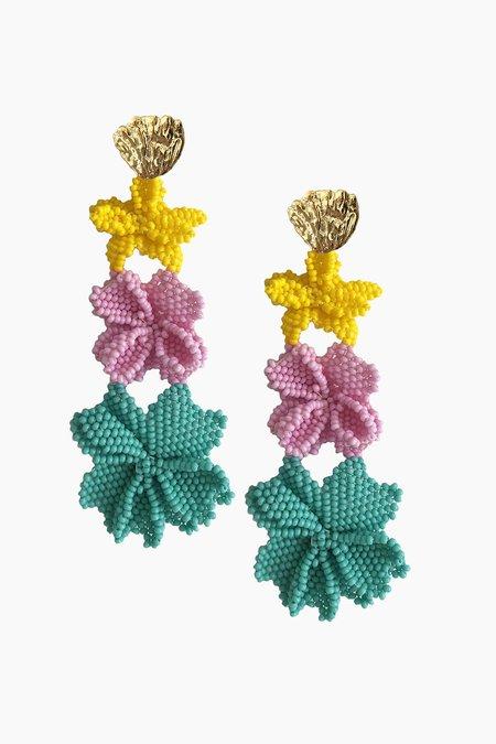 Jetlagmode Pastel Garden Earrings