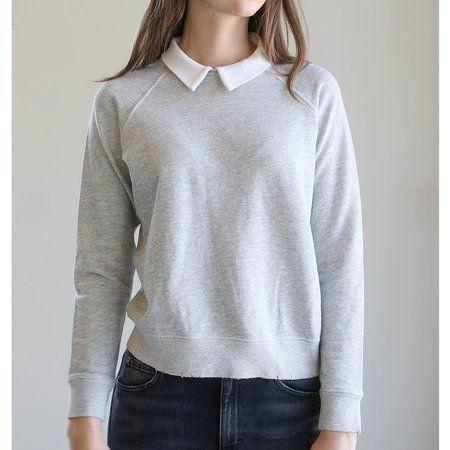 Amo Prep Sweatshirt - Heather Grey
