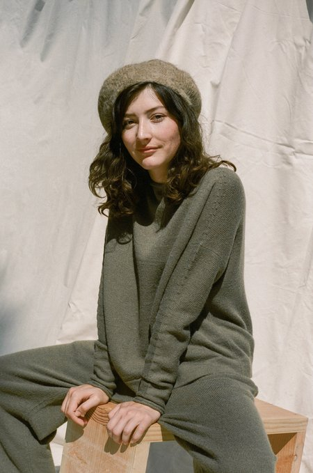 Lauren Manoogian Beret - Camel