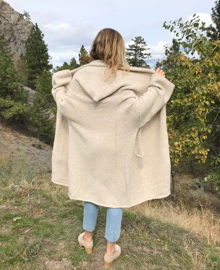Lauren Manoogian Capote Coat - Hessian