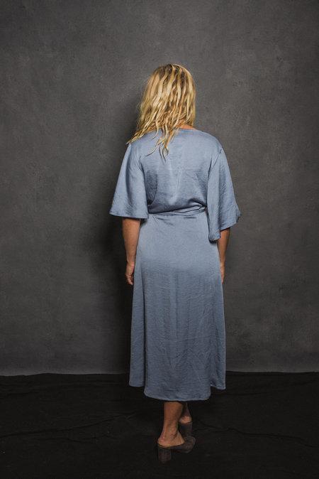 CONRADO April Wrap Dress - Blue