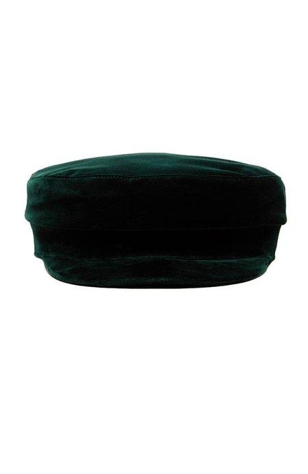 Janessa Leone Mattie Velvet Fisherman Hat - Emerald