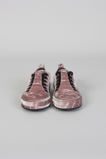 Ann Demeulemeester Lavato Cipria Velvet Sneakers - Pink