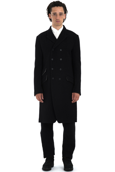 Forme d'Expression DB Reefer Coat - BLACK