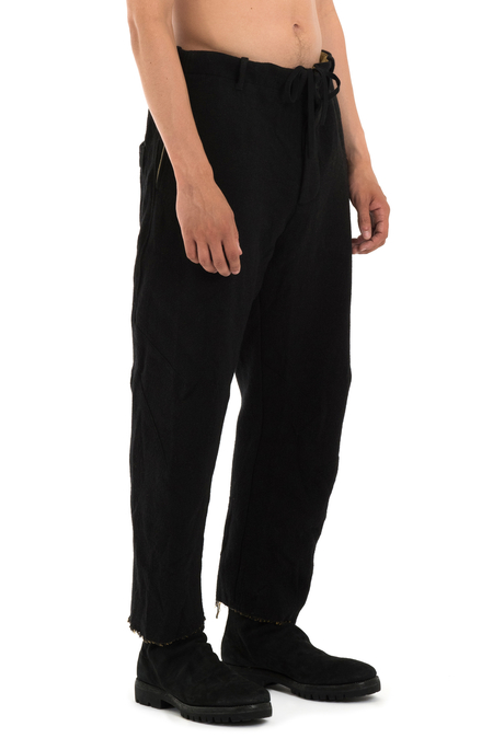 Forme D'Expression Cropped Pants - BLACK