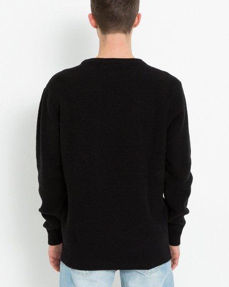 Soulland Cassidy Herringbone Sweater - Black
