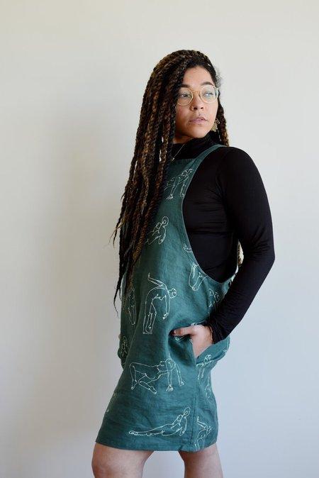 Maker & Mineral Onyx Dress - Wired Print