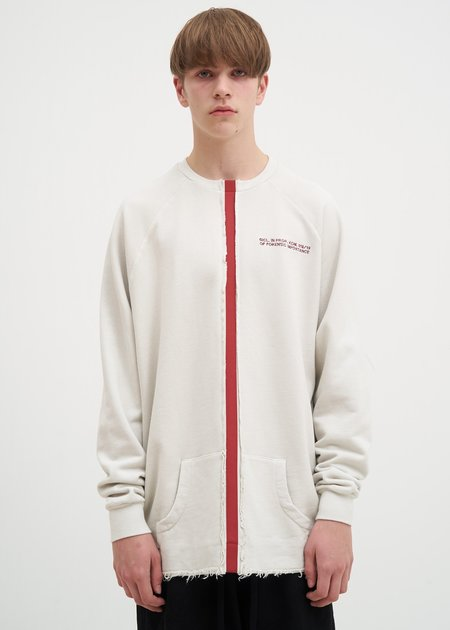 Komakino Taped Crewneck - Cream