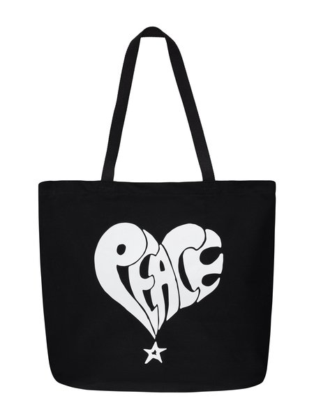 Stussy Peace Tote Bag - Black