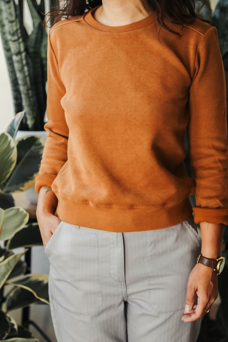 Bridge & Burn Linnton Sweatshirt - Ochre