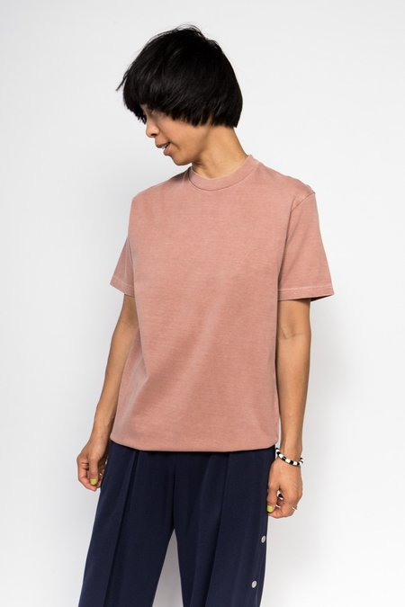 Maiden Noir Natural Dyed Block Jersey - Coral