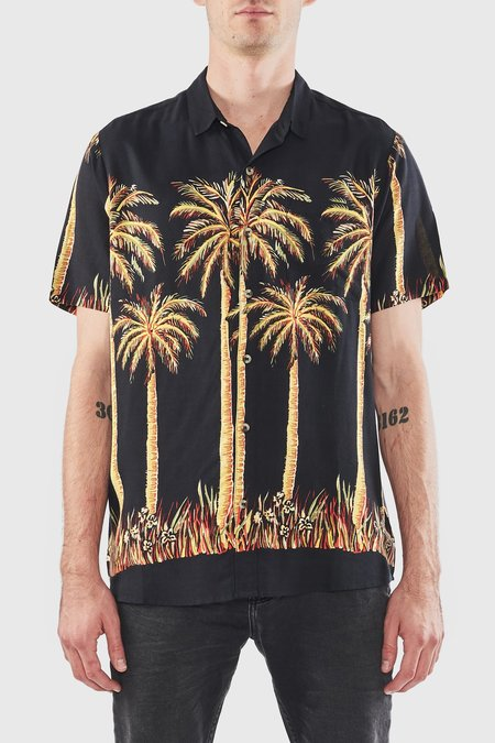 Rollas Big Kahuna Bon Shirt - Black