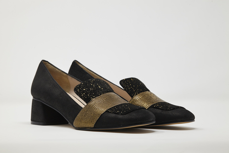 5yMedio SANTI loafer - GOLD GALAXY