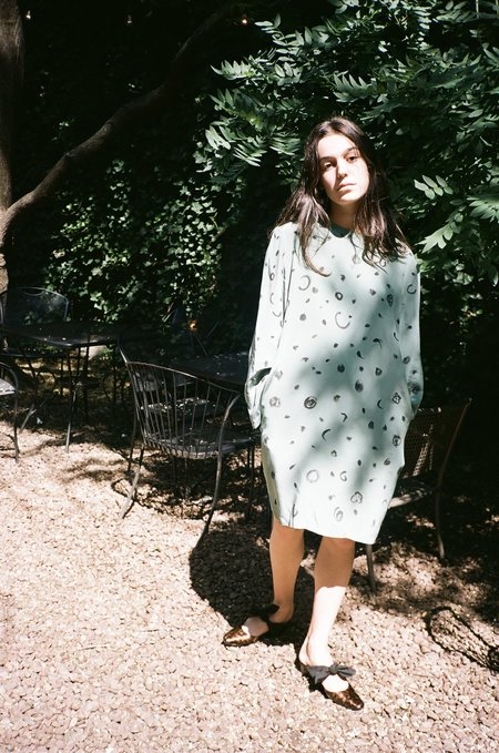 About Arianne Tina Carey Slipper - Faux Tortoise