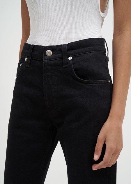 Helmut Lang Masc Hi Drainpipe Jeans - Black