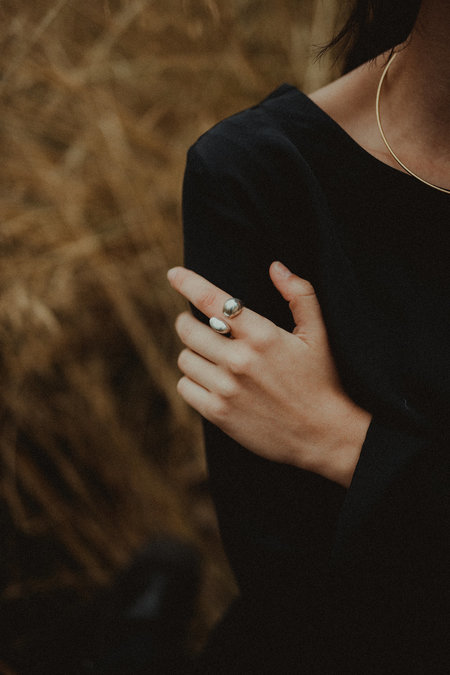 Uni Jewelry Ora Ring - Silver