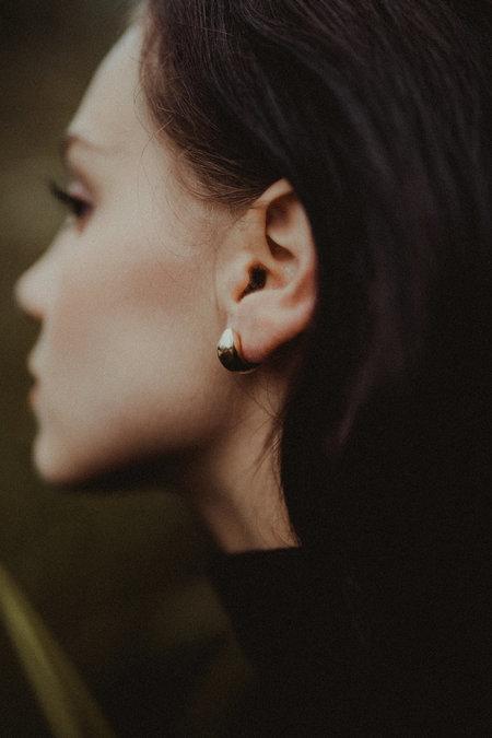 Uni Jewelry Inid Hugs Earrings - Brass