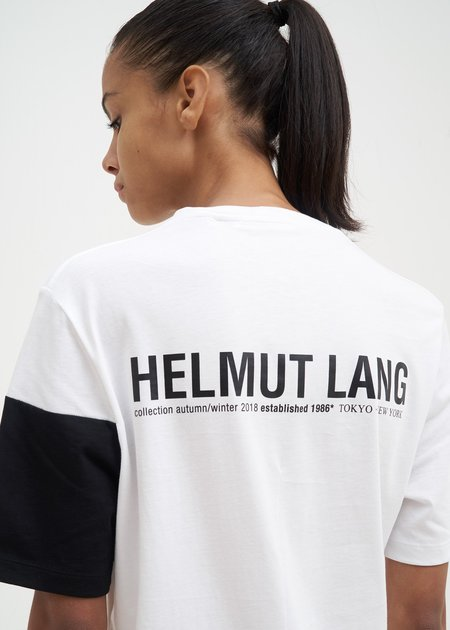 Helmut Lang Band Logo T-Shirt - White