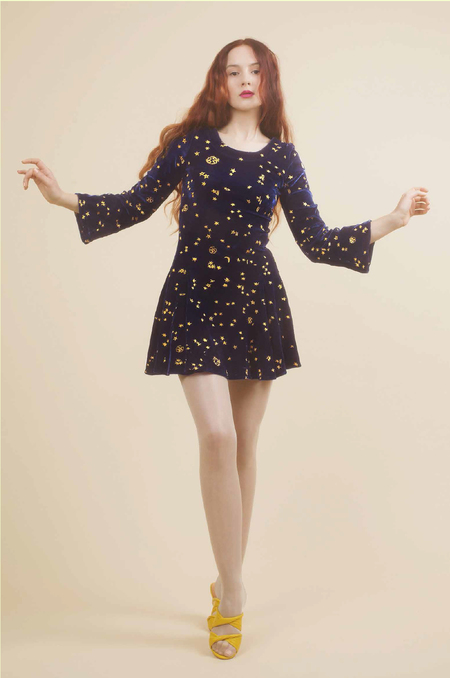 Samantha Pleet Magic Dress in Midnight