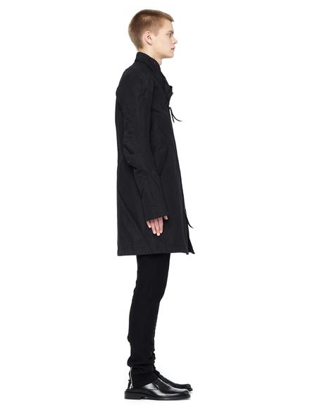 Leon Emanuel Blanck Tailored Zip-up Coat - Black
