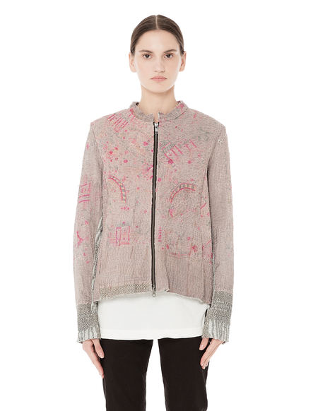 By Walid SVMOSCOW exclusive bomber jacket - dusty pink
