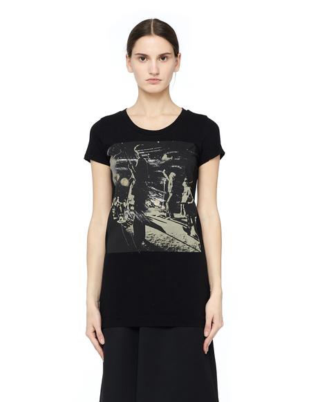 L.G.B. Cotton Printed T-shirt - Black