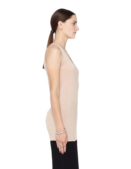 Rick Owens Lilies Plunging V-neck Top