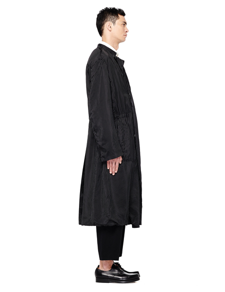 Haider Ackermann Striped Coat - Black