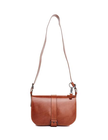 A.F.Vandevorst Leather Cross Body Bag - Brown
