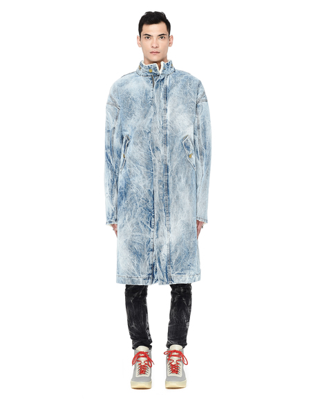 Fear of God Holy Water Denim Coat - Blue