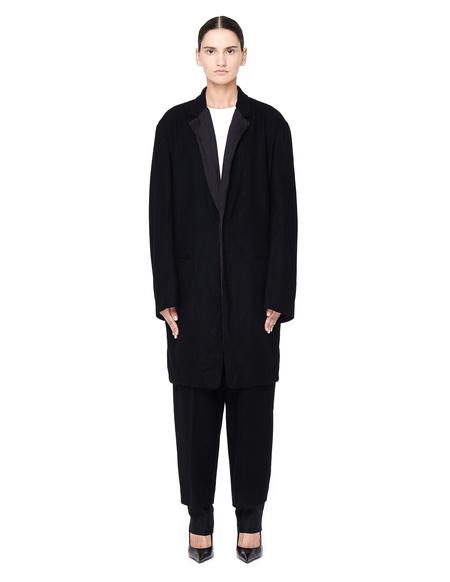 Y's by Yohji Yamamoto Elongated Jacket - Black