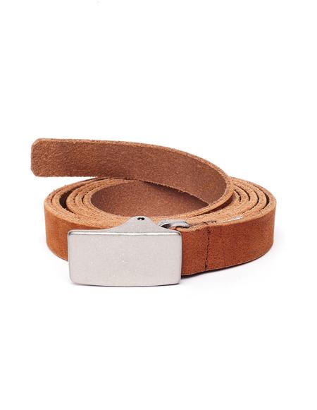 Yohji Yamamoto Leather Belt - Brown