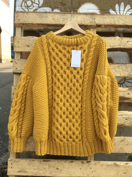 I love Mr Mittens Talli Wool SWEATER - Mustard