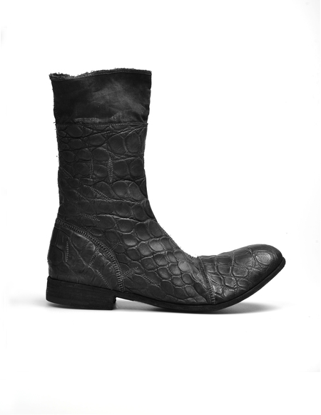 Isaac Sellam Side Zip Boots - Black