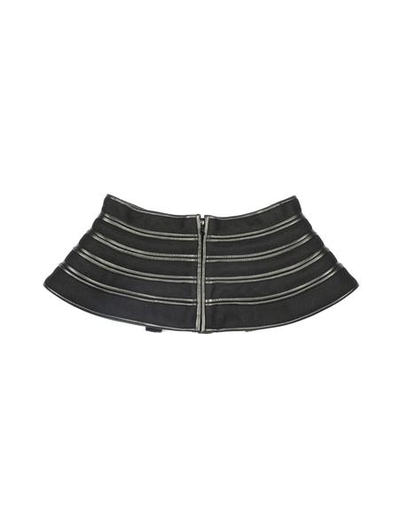 David Koma Peplum belt - black