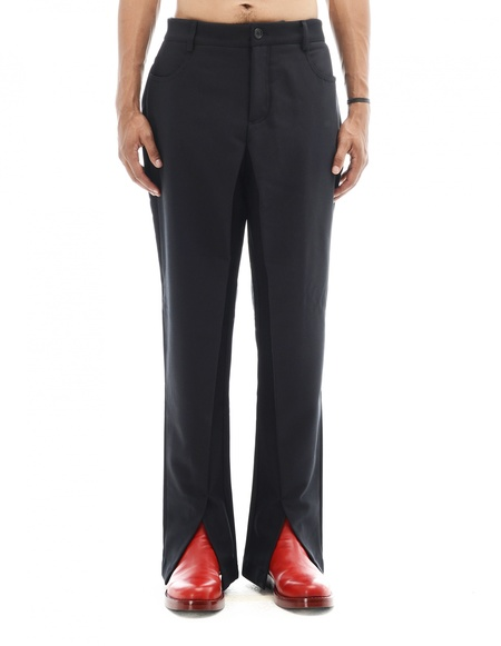 Hood By Air Wool Trousers - Black
