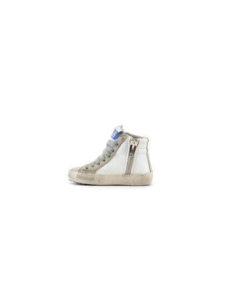 Kids Golden Goose Leather Hi-top Sneakers
